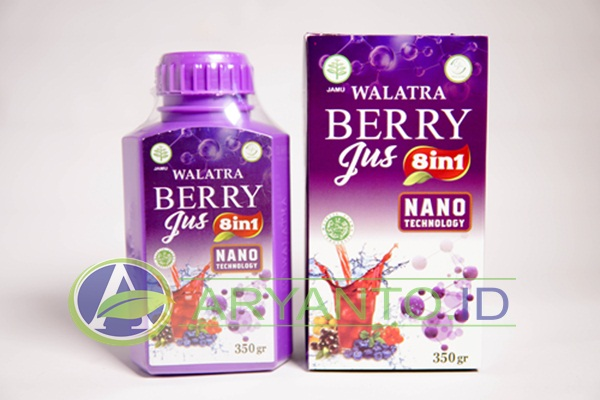 Walatra Berry Jus Asli 100% Herbal Multikhasiat
