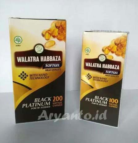Walatra Habbaza Softgel Original dan Legal BPOM